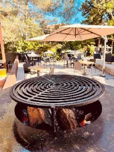 Grillades et barbecue, guinguette Clos des Oliviers