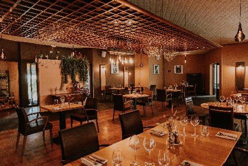 Intérieur du restaurant Clos des Oliviers